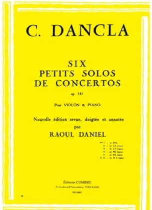Petit solo de concerto op. 141 n° 6 en Si b Majeur - laflutedepan.com