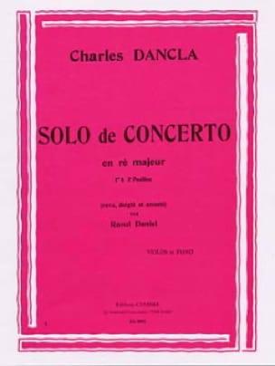 Solo de concerto en Ré Majeur - DANCLA - Partition - laflutedepan.com