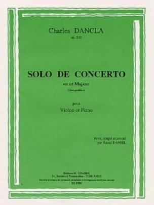 Solo de concerto en ut majeur op. 210 - DANCLA - laflutedepan.com