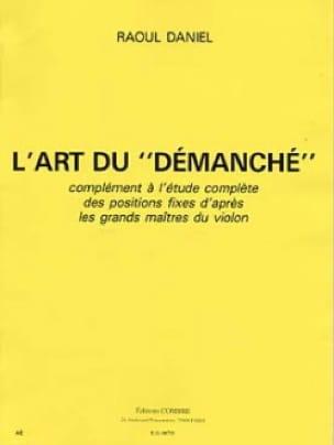 L' Art du Démanché - Raoul Daniel - Partition - laflutedepan.com
