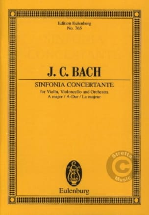 Sinfonia concertante A-Dur - Johann Christian Bach - laflutedepan.com