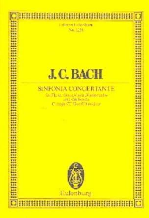 Sinfonia Concertante C-Dur - Johann Christian Bach - laflutedepan.com