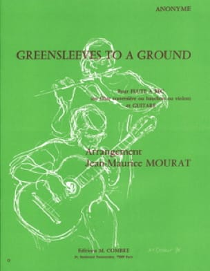 Jean-Maurice Mourat - Greensleeves to a Ground - Guitar Recorder - Partition - di-arezzo.co.uk