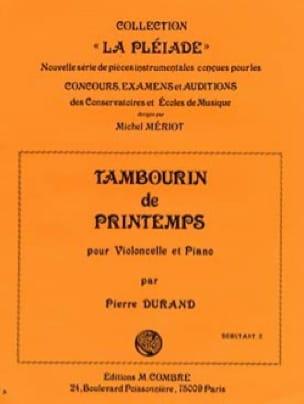 Pierre Durand - Spring tambourine - Partition - di-arezzo.co.uk