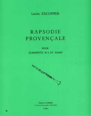 Rapsodie provencale - Lucien Excoffier - Partition - laflutedepan.com
