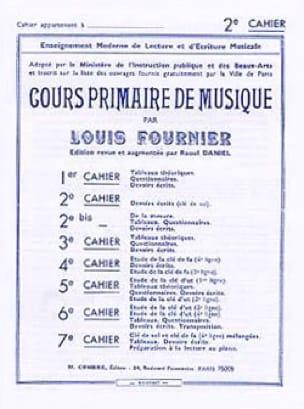 Cours primaire de musique n° 2 - Louis Fournier - laflutedepan.be