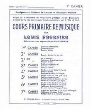 Louis Fournier - Primary Music Course No. 4 - Partition - di-arezzo.co.uk