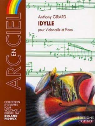 Idylle - Anthony Girard - Partition - Violoncelle - laflutedepan.com