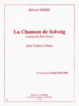 Edvard Grieg - Canto de Solveig - Violin - Partition - di-arezzo.es