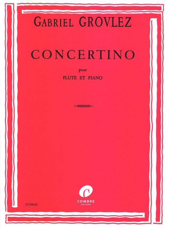 Concertino - Flûte - Gabriel Grovlez - Partition - laflutedepan.com