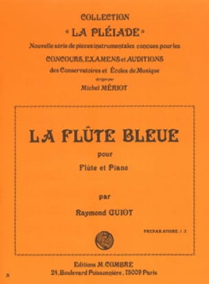 Raymond Guiot - The Blue Flute - Partition - di-arezzo.co.uk