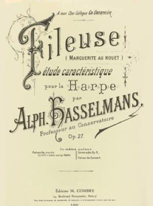 La Fileuse op 27 - Harpe - Alphonse Hasselmans - laflutedepan.com