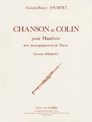 Claude-Henry Joubert - Colin's song - Partition - di-arezzo.co.uk