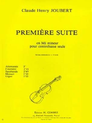 Claude-Henry Joubert - Suite n ° 1 in E minor - Partition - di-arezzo.co.uk