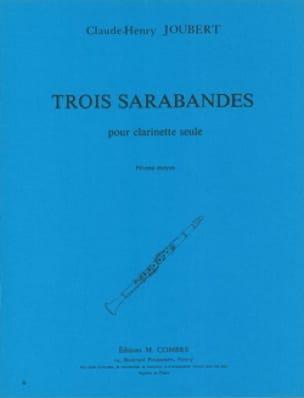 3 Sarabandes - Claude-Henry Joubert - Partition - laflutedepan.com