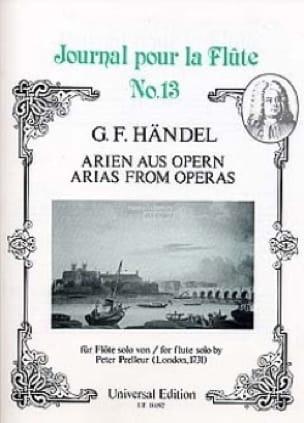 Arien Aus Opern - HAENDEL - Partition - laflutedepan.com