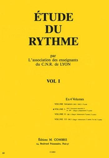 Etude du Rythme Volume 1 - de Lyon C.N.R. - laflutedepan.com