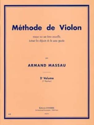 Armand Massau - Violin Method Volume 2 SOLD OUT - Partition - di-arezzo.co.uk