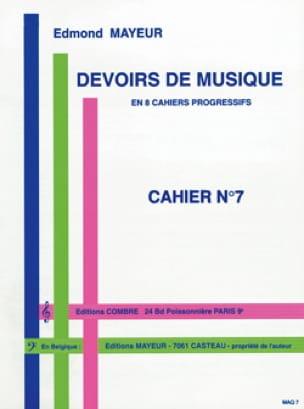 Edmond Mayeur - Duties of music n ° 7 - Partition - di-arezzo.com
