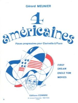 4 Américaines - Gérard Meunier - Partition - laflutedepan.com