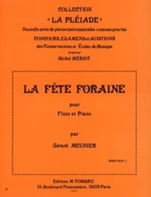 Gérard Meunier - La fête foraine - Partition - di-arezzo.fr
