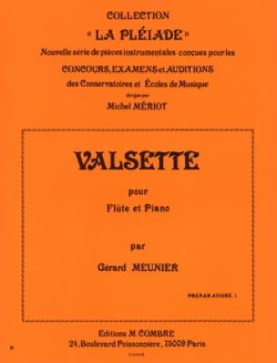 Gérard Meunier - Valsette - Partition - di-arezzo.com