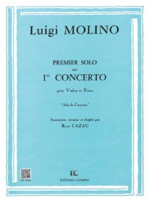 1er Solo du Concerto n° 1 - Luigi Molino - laflutedepan.com