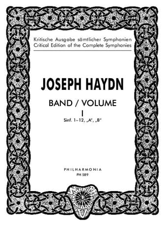 Edition complete Symphonies - Volume 1 1-12 - Score - laflutedepan.com