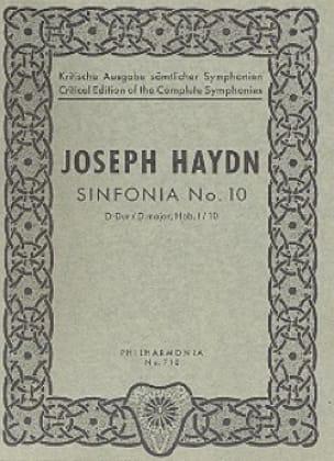 Symphonie Nr. 10 D-Dur Hob. 1 : 10 - Partitur - laflutedepan.com