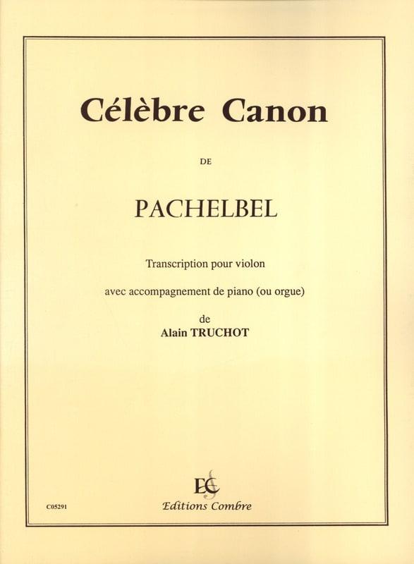 Johann Pachelbel - Famous Canon - Violin - Partition - di-arezzo.co.uk