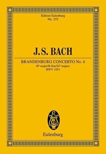 Brandenburgisches Konzert Nr 6 B-Dur - BACH - laflutedepan.com