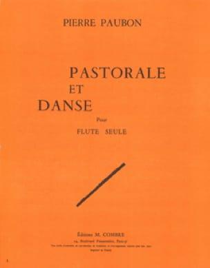 Pastorale et Danse - Pierre Paubon - Partition - laflutedepan.com