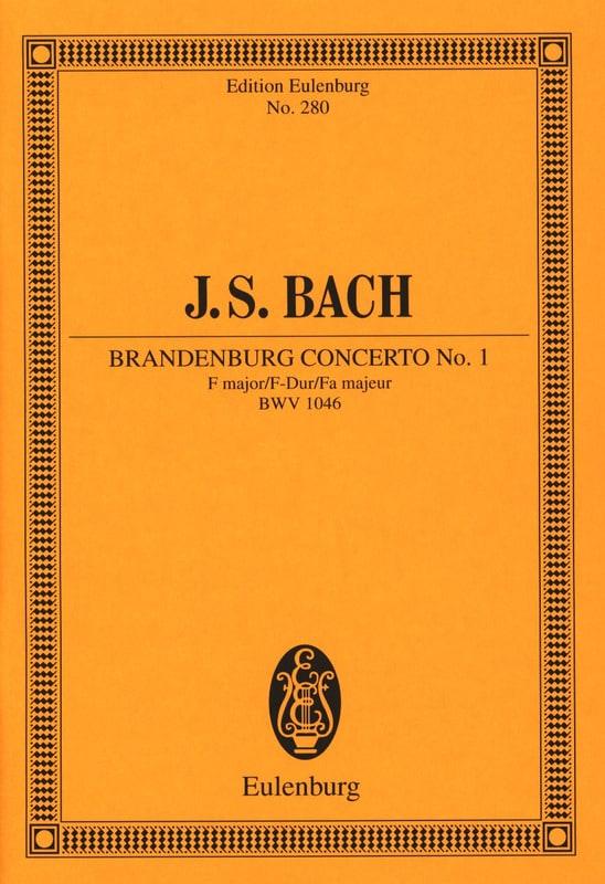 Brandenburgisches Konzert Nr. 1 F-Dur - BACH - laflutedepan.com