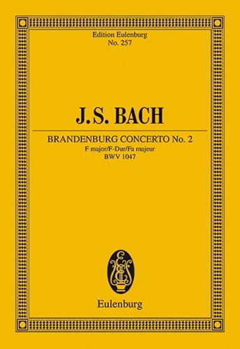 Brandenburgisches Konzert Nr. 2 F-Dur - BACH - laflutedepan.com