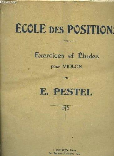 E. Pestel - School of positions - Partition - di-arezzo.co.uk