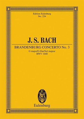 Brandenburgisches Konzert Nr. 3 G-Dur - BACH - laflutedepan.com