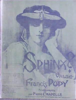 Francis Popy - Sphinx - Violin - Partition - di-arezzo.co.uk