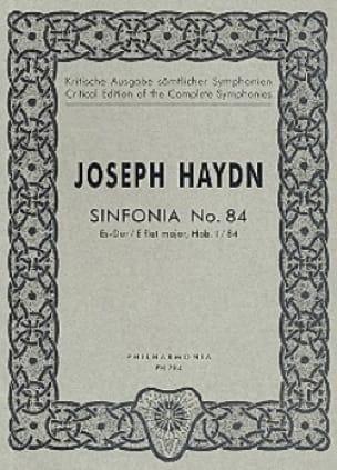 Symphonie Nr. 84 Es-Dur Hob. 1 : 84 - Partitur - laflutedepan.com