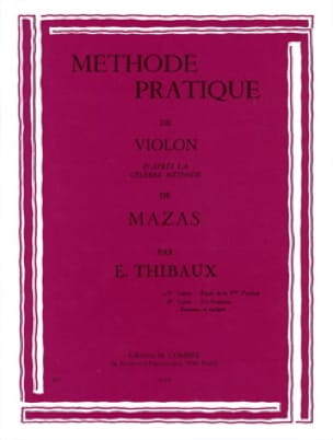 MAZAS - Practical Method According to Mazas Volume 1 - Partition - di-arezzo.co.uk