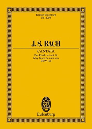 Cantate Der Friede Sei Mit Dir BWV 158 - BACH - laflutedepan.com
