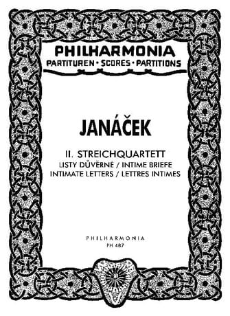 Leos Janacek - Streichquartett Nr. 2 - Partitur - Partition - di-arezzo.co.uk