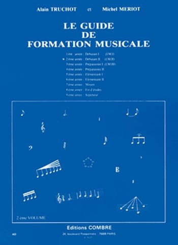 Alain TRUCHOT et Michel MÉRIOT - The Music Training Guide Volume 2 - Partition - di-arezzo.com