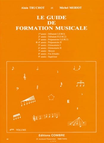 Alain TRUCHOT et Michel MÉRIOT - The Music Training Guide Volume 4 - Partition - di-arezzo.it