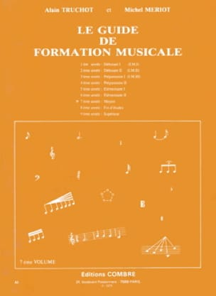 Alain TRUCHOT et Michel MÉRIOT - The Music Training Guide Volume 7 - Partition - di-arezzo.com