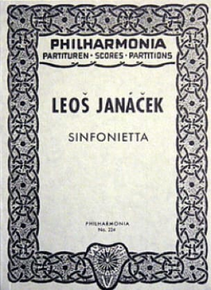 Leos Janacek - Sinfonietta - Partitur - Partition - di-arezzo.co.uk