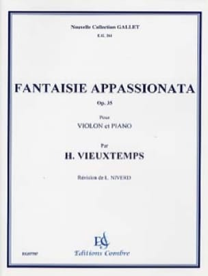 Henri Vieuxtemps - Fantasy appasionata op. 35 - Partition - di-arezzo.com