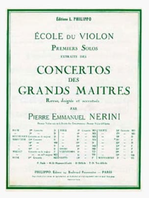 1er solo du Concerto n° 20 Nerini - laflutedepan.com