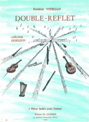 Double-Reflet - Frédéric Vitiello - Partition - laflutedepan.com