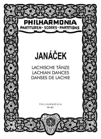Lachische Tänze - Partitur - JANACEK - Partition - laflutedepan.com