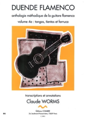 C Worms - Duende Flamenco - Volume 4A - Tango, Tientos - Farruca - Partition - di-arezzo.co.uk